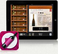 Carta vini sfogliabile con iPad