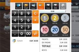 cassa fiscale iPad schermata incasso
