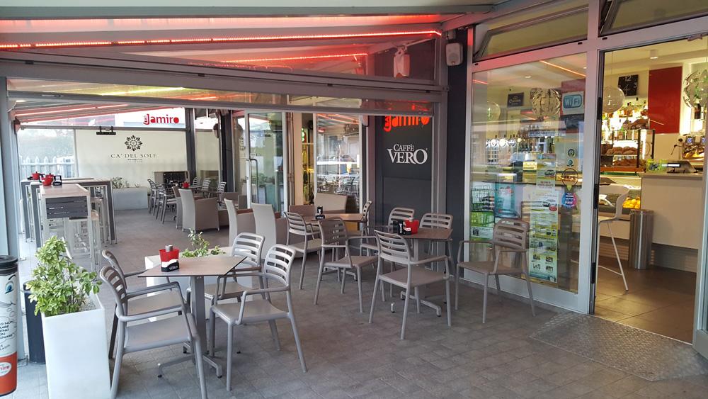 Intervista al Jamiro Caffè della famiglia Spinadin: modernità, tradizione e... sport!
