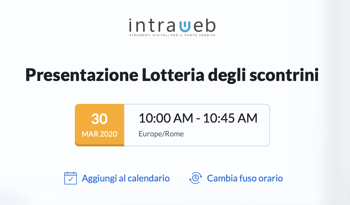 IMMAGINE WEBINAR LOTTERIA DEGLI SCONTRINI